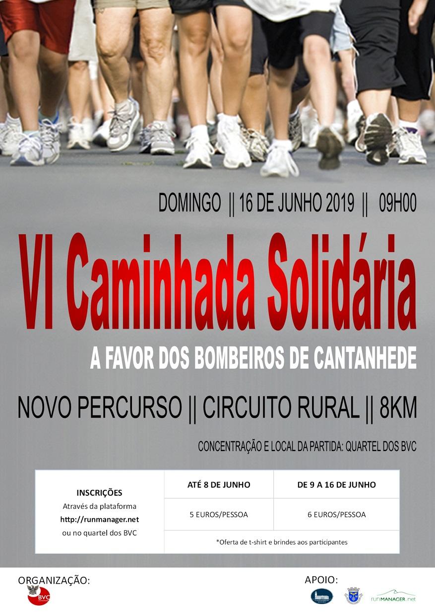 ver notícia VI Caminhada Solidária