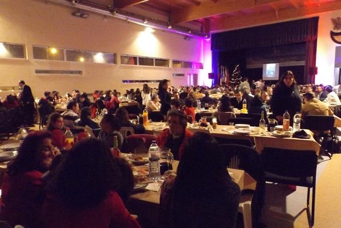 Ceia de Natal reuniu 300 pessoas