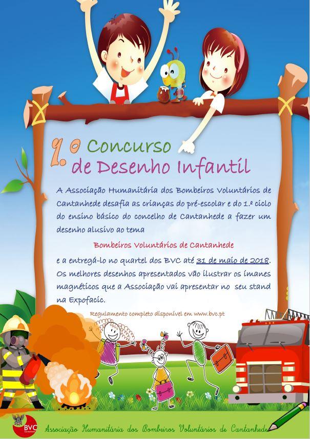 1.º Concurso de Desenho Infantil