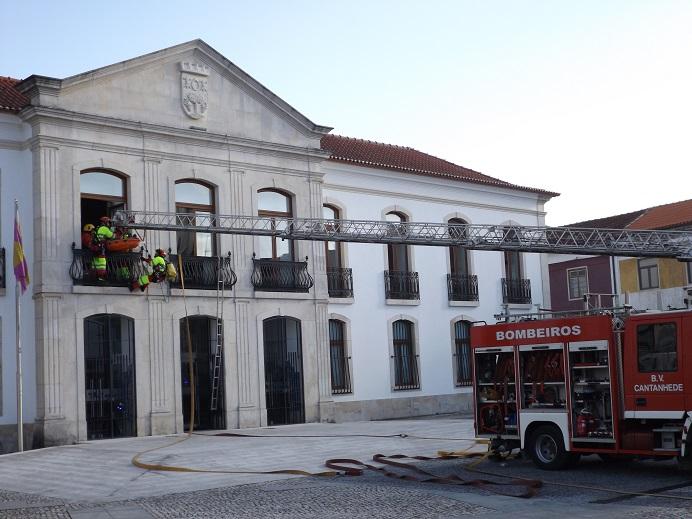 Simulacro encerrou Semana da Proteção Civil