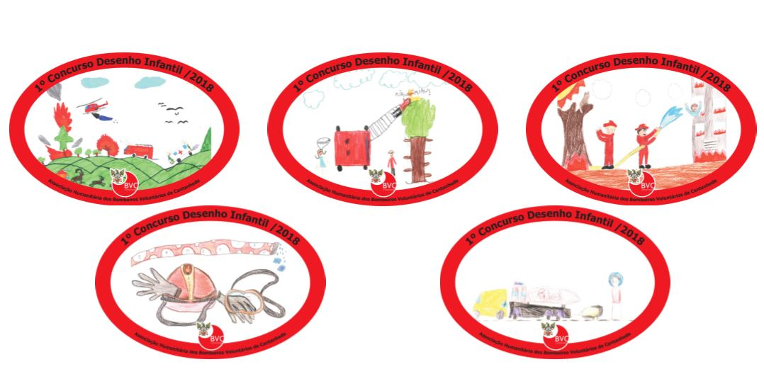 Desenhos infantis ilustram ímanes lançados pelos bombeiros
